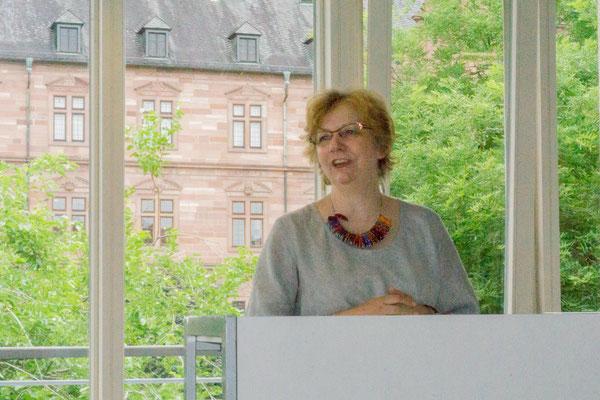 Ulrike Ader - Schulleiterin - Städt. Fachschule (Meisterschule) für Steinmetzen und Steinbildhauer