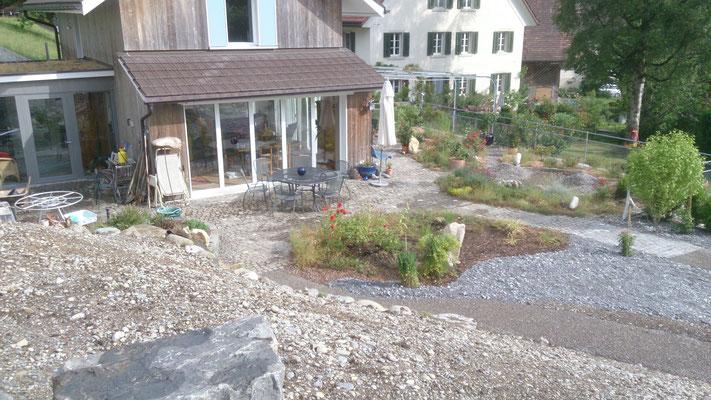 Naturnahe Gartenanlage