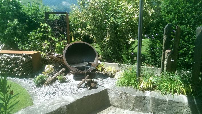 Füürstelle im Garten