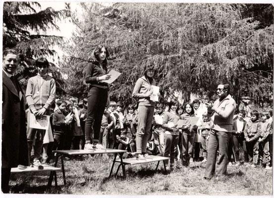 Villa comunale, 1977, Giochi della gioventù