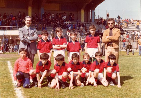 Campo sportivo di Viterbo, s.d., finale torneo provinciale di calcio.