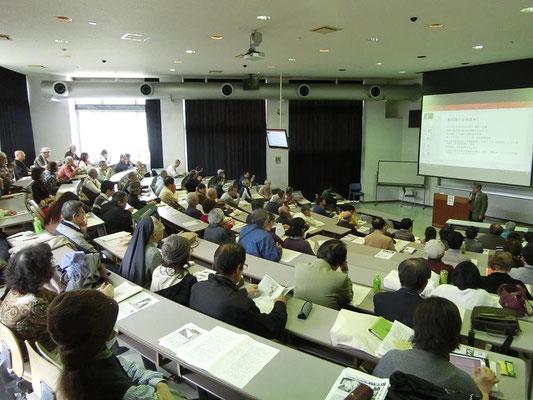 沖縄講演ツアー 沖縄大学で講演会 2017.2.4