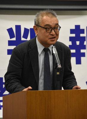 控訴審第2回報告集会 植村隆氏 2019.12.26