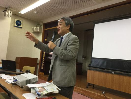 2017年夏の講演ツアー 長崎市で 2017.8.7