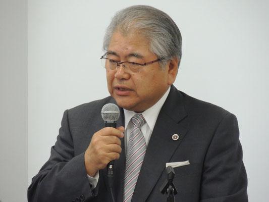 第3回報告集会 支える会共同代表・上田文雄氏 2016.7.29
