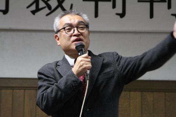 第13回報告集会(札幌地裁判決後)植村隆氏 2018.11.9