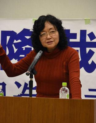 控訴審第2回報告集会 講演・江川紹子氏 2019.12.26