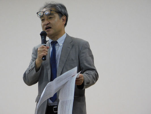 第9回報告集会 植村隆氏 2017.9.8