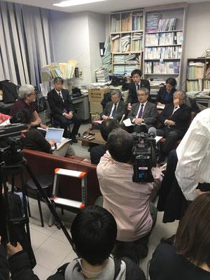 第11回口頭弁論後の記者会見 2018.3.23