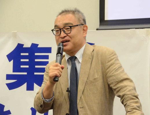 東京地裁判決報告集会 植村隆氏 2019.6.26