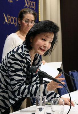 外国特派員協会で記者会見 桜井よしこ氏 2018.11.16