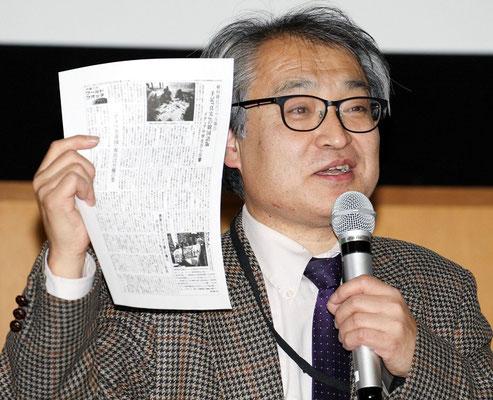 第5回報告集会 植村隆氏 2016.12.16