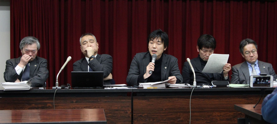 控訴審判決後の記者会見 2020.2.6