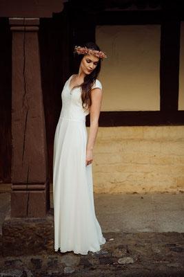 """dein Boho Brautkleid """"Koko"""" - leichte und unkomplizierte Hochzeitskleider"""