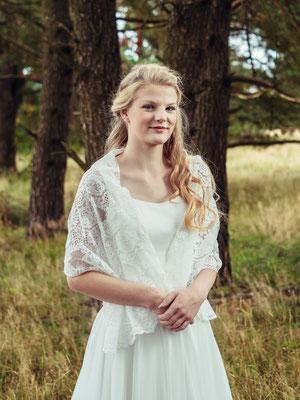 """zweiteiliges Brautkleid mit Spitzentop """"Akina"""" - elementar Brautkleider 2018"""