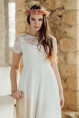 """dein Boho Brautkleid """"Hiko"""" - leichte und unkomplizierte Hochzeitskleider"""
