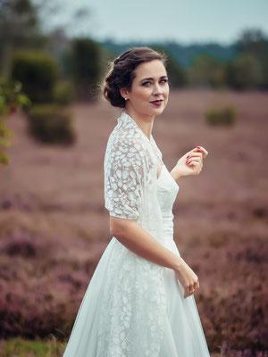 """zweiteiliges Brautkleid mit Tüllrock """"Mai"""" - elementar Brautkleider 2018"""