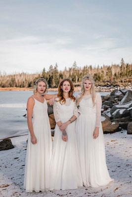 Bio Brautkleider aus Baumwolle - nachhaltig, vegan und fairtrade