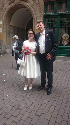 kurzes Hochzeitskleid - Standesamtkleid