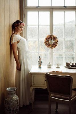 """dein Boho Brautkleid """"Mamiko"""" - leichte und unkomplizierte Hochzeitskleider"""