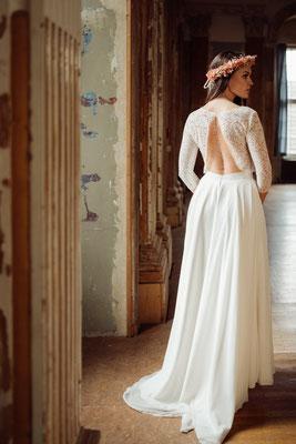 """dein Boho Brautkleid """"Suzu"""" - leichte und unkomplizierte Hochzeitskleider"""