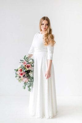 das Brautkleid für die kurvige Braut