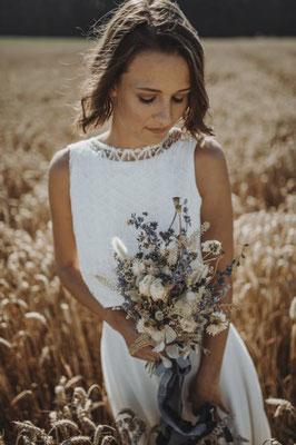 Eine nachhaltige Hochzeitsinspiration mit zartem Vintage Hauch. Deine nachhaltige Hochzeit - romantische, natürliche Farben, wahre Gefühle