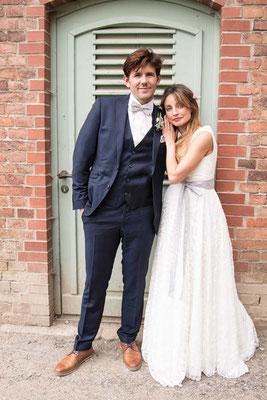Umstandskleid für die Hochzeit