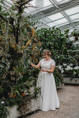"""Vintage Brautkleid """"Naomi"""" - elementar Brautkleider in großen Größen - CURVY BRIDE"""