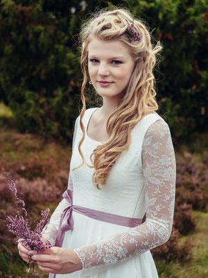 """Vintage Brautkleid mit Ärmel """"Serena"""" - elementar Brautkleider 2018"""