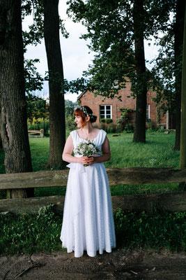 Brautkleid für weibliche Rundungen