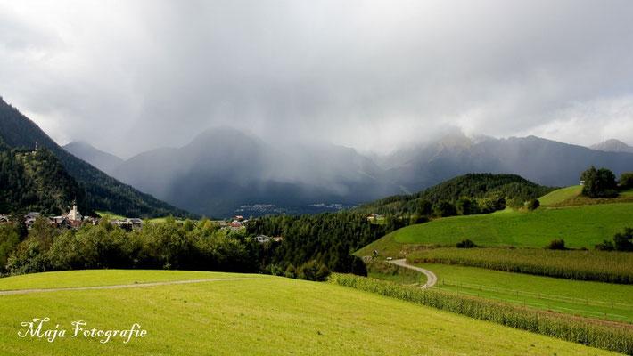 06/09/2015; 15:25  Schauer in den Alpen :-)