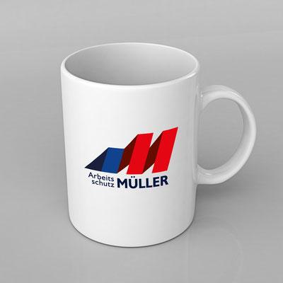 Logogestaltung für Arbeitsschutz Müller aus Altusried