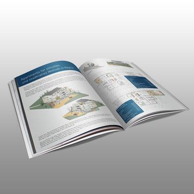 Gestaltung eines Exposé für Müller Massiv-und Holzbau GmbH (Innenseiten)