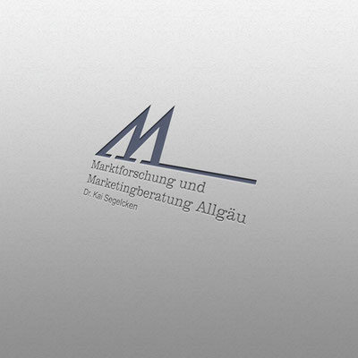 Logogestaltung für Marktforschung und Marketingberatung Allgäu | Dr. Kai Segelken