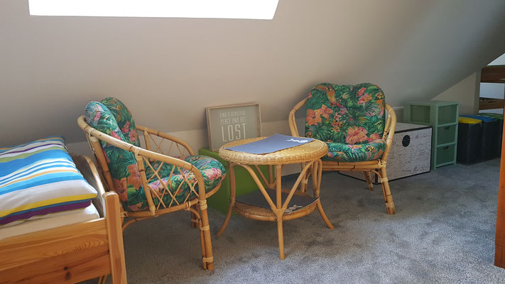 Sonnige Sitzecke