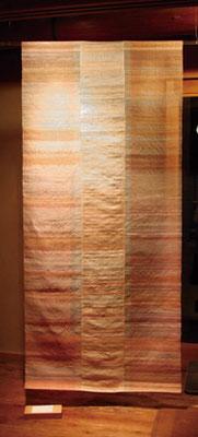 ノゾミ 2016 年  Silk Natural dye W80×H175