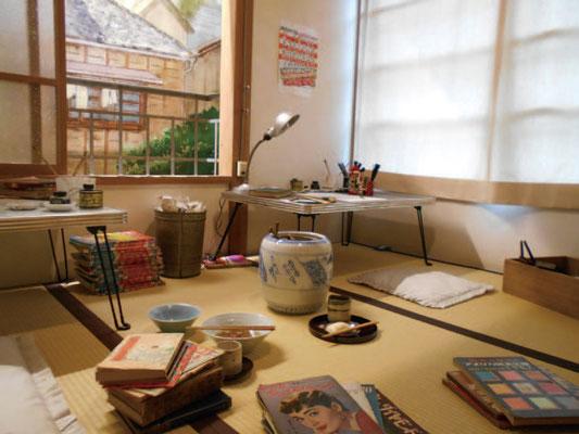 トキワ荘の部屋の再現