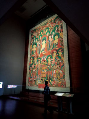 国立中央博物館の「掛仏」を見る
