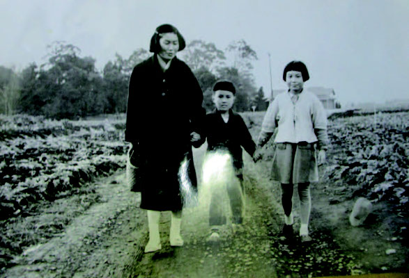 薗田道子、陽さん、みはるさん 戦後すぐの練馬区早宮あたり