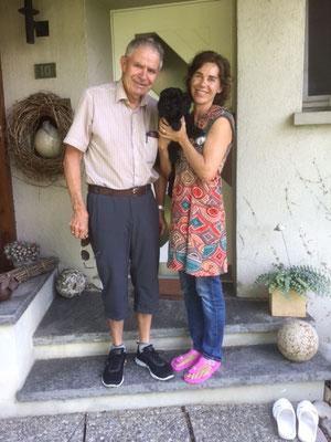 India mit Irene und Leo (es fehlen Josef, Julia, Elisa-Maria, Louis und Linda)