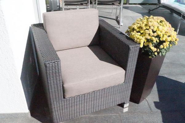 Terassenmöbel / Neupolsterung / Neubezug / Outdoorbereich