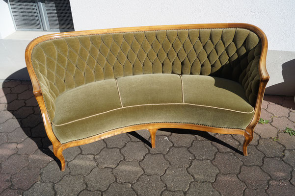 Stilmöbel, Sofa Neubezug