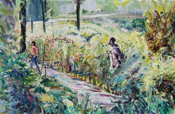 Ooh… 2012. Oil on canvas. 85 x 135