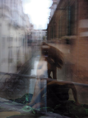 The Venetian Demon. 2010. Photo, aluminum, plasticization. 132.5 x 100