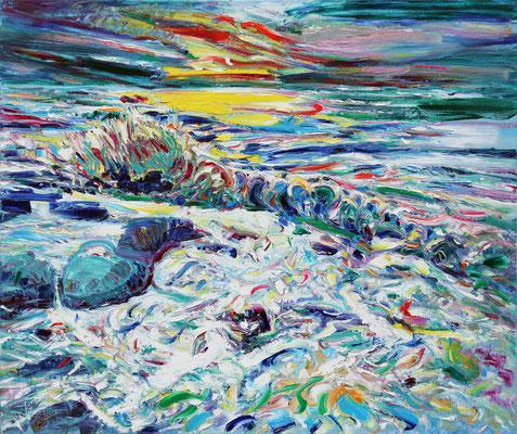 Ocean Dream. 2014. Oil on canvas. 100 x 120