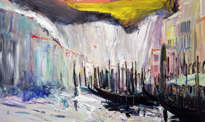 The Grand Canal. 2010. Oil on canvas. 60 x 100