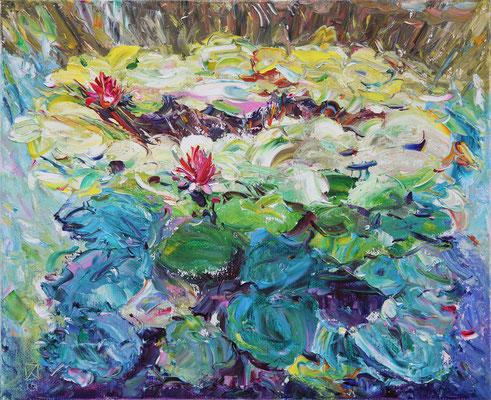 The Light, the Shadow. 2013. Oil on canvas. 52 x 64