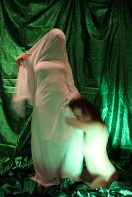 White Nights. 2009. Photo plasticization. 100 x 66,5
