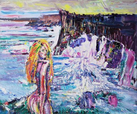Boca do Inferno. 2014. Oil on canvas. 100 x 120